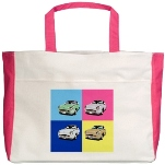 Beach Tote with Figaro Montage