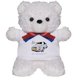 Teddy Bear Figaro in Pale Aqua