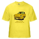 Yellow T-Shirt Figaro in Topaz Mist