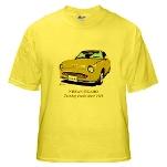 Yellow T-Shirt Figaro in Topaz Mist