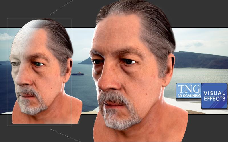 full 3d head scan