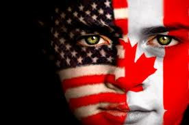 American-Canadian Flag - FACE