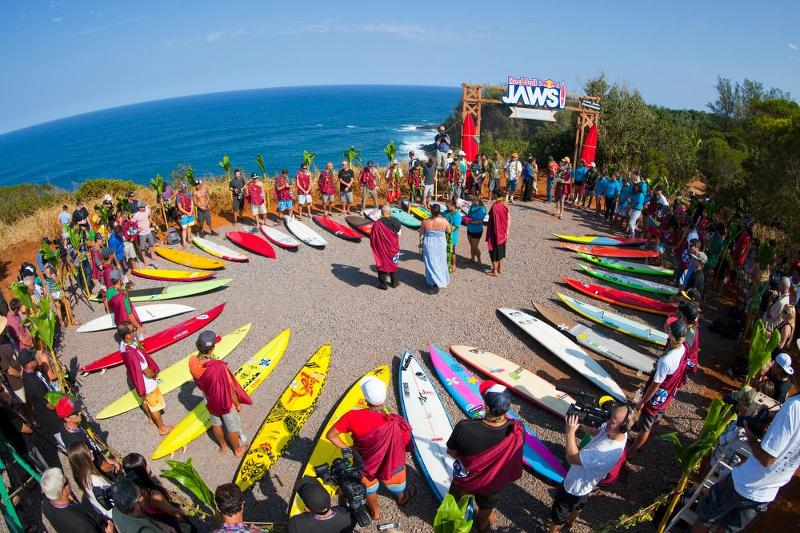 The Competitors at the Opening Ceremony. Credit: Zak Noyle