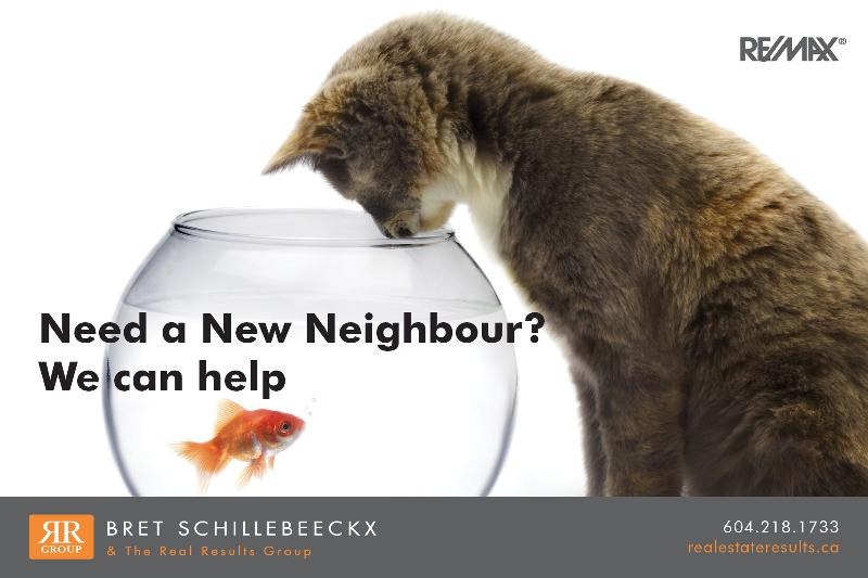 Need a New Neighbour