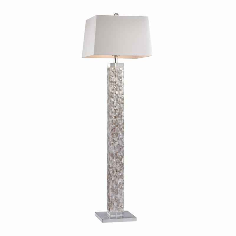New coastal floor lamps for White mosaic floor lamp