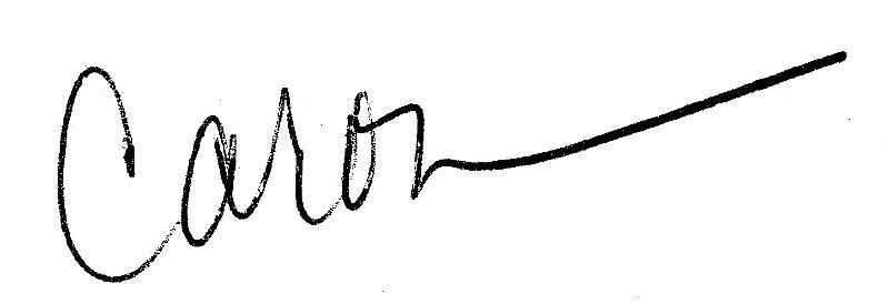 Caron's Signature