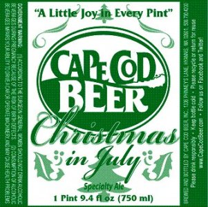 Cape Cod Beer Christmas in July 2012