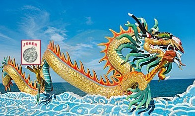 dragon on water