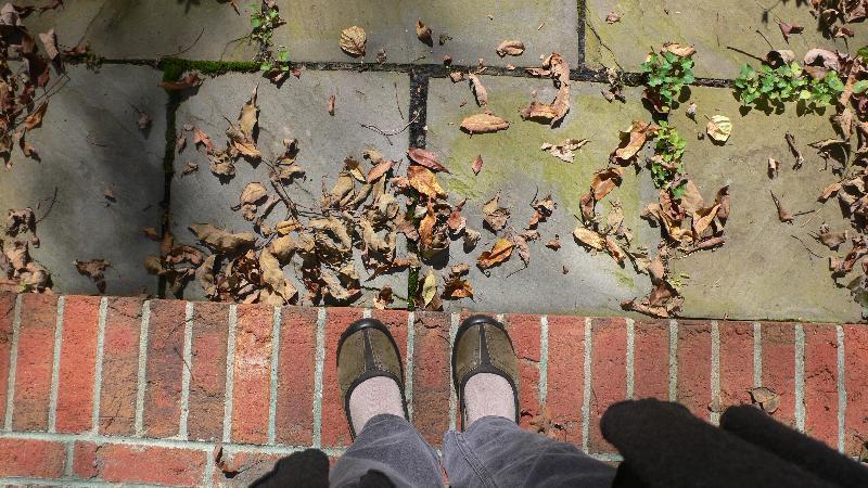 feet-- walking ritual