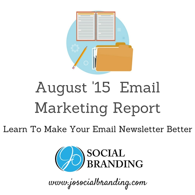 August Email Marketing Report
