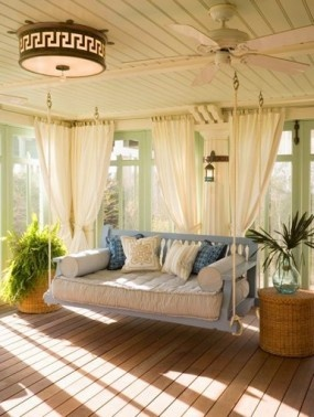 bed swing, outdoor furniture, porch swing