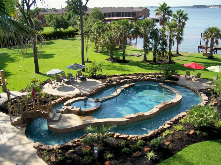 water feature, pool, spa, lazy river