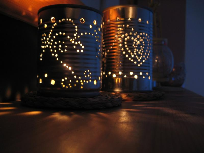 tin can votive