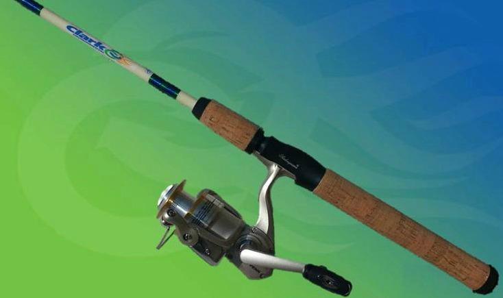Clark Environmental Fishing Rod & Reel