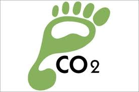 Carbon footprint graphic