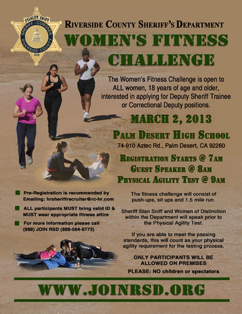 Womens Fitness Challenge