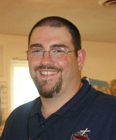 Greg Blue Shirt