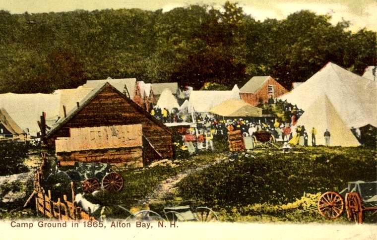 ABCA Tenting postcard