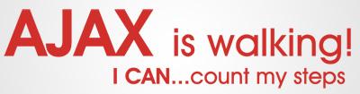 Ajax is Walking - Pedeometer Challenge