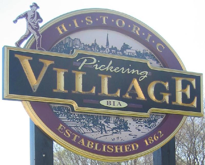 Pickering Village Sign