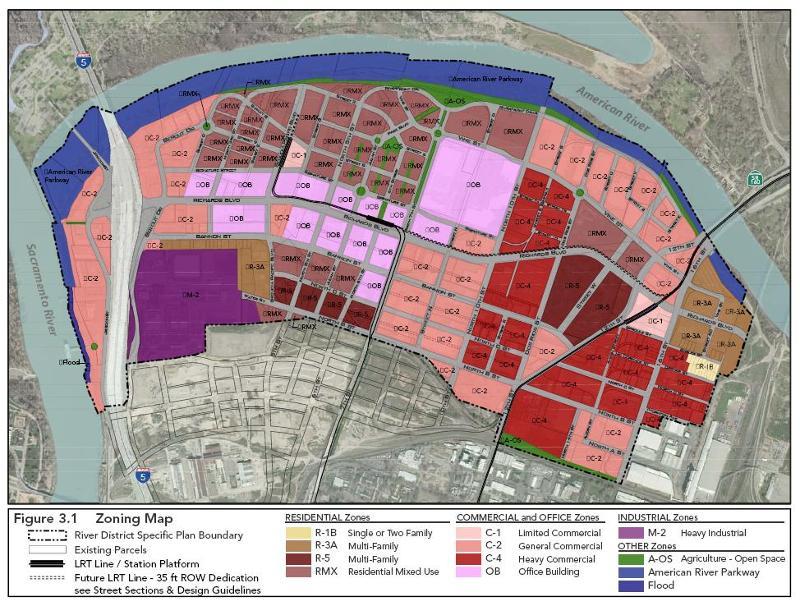 River District Zoning & Circulation