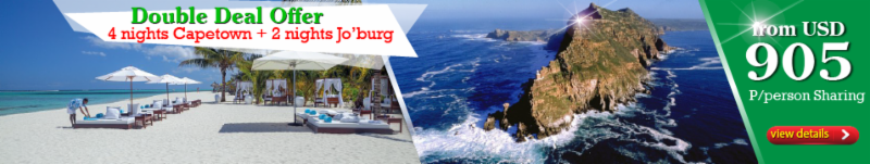 Capetown and Johannesburg Holiday Package