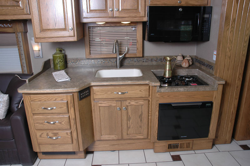 Galley without Covers