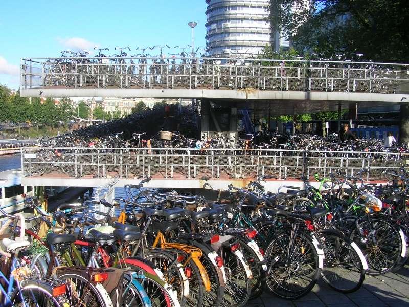 Bike Garage in Amsterdam