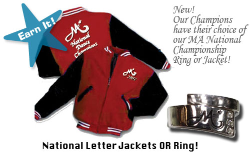 Nationals Jackets and Rings