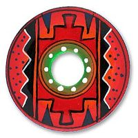 Painted Peruvian Plate