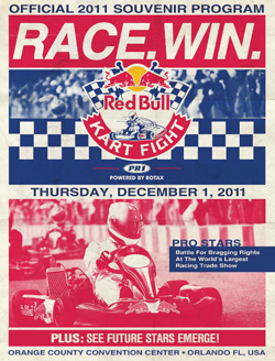 2011 Kart Race Program Cover