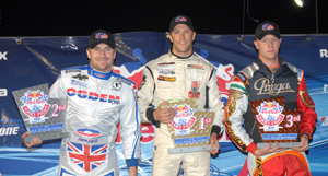 Red Bull Kart Fight Podium 2011