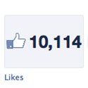 FB Likes March 2013