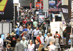 Friday Crowd at 2011 PRI Show