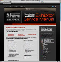 2012 Exhibitor Service Manual Online
