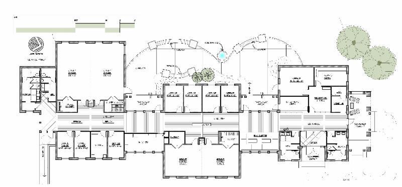CENTER FOR LIVING FLOOR PLAN