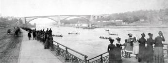 Harlem River in 1902