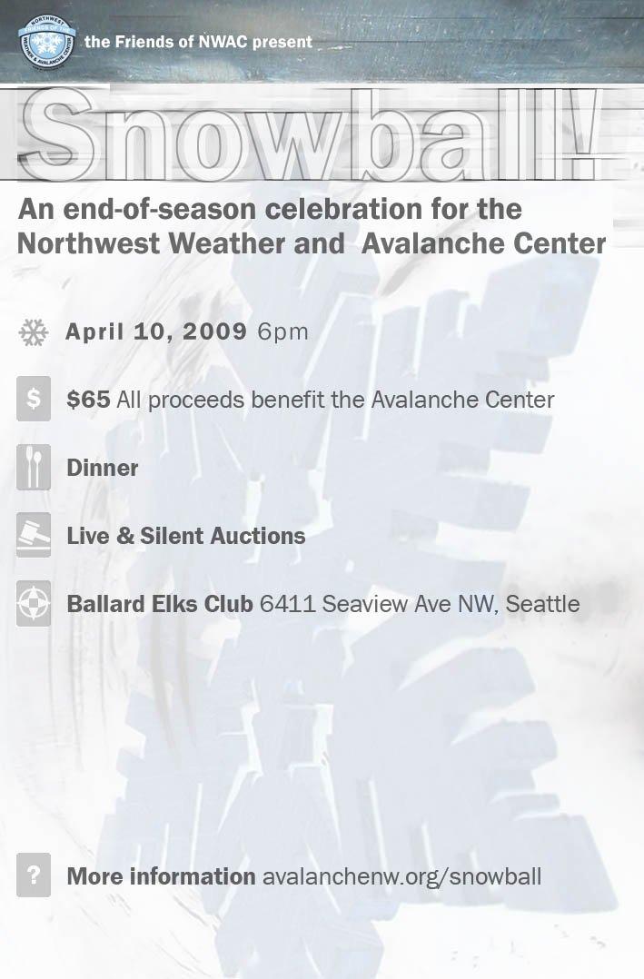 SnowBall invitation