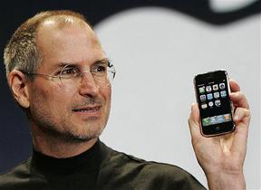 Steve Jobs and Iphone