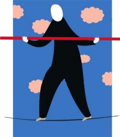 tightrope walker