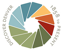 discover denver logo