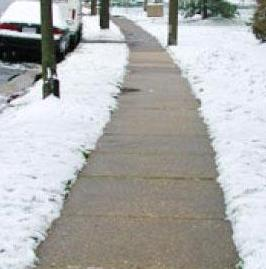 Sidewalk Safety