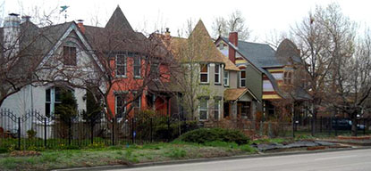 South Lincoln Street houses
