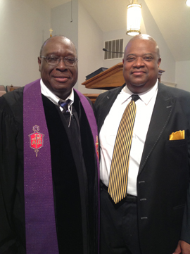 Bishop Swanson and Rev. Toney Crisler