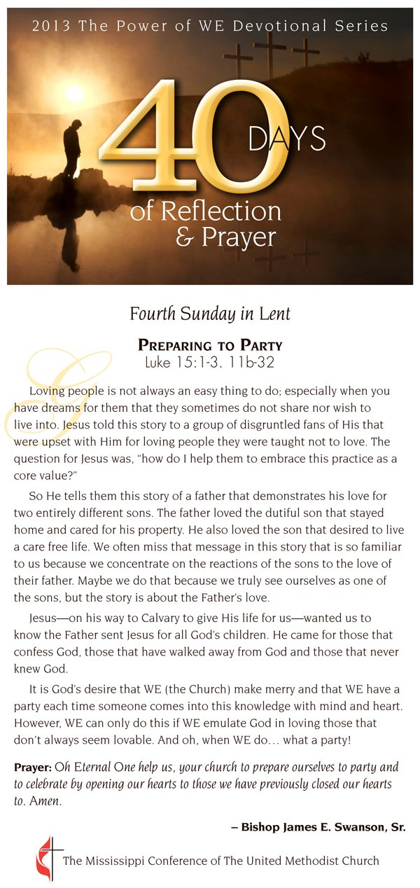 Devotional for March 10, 2013