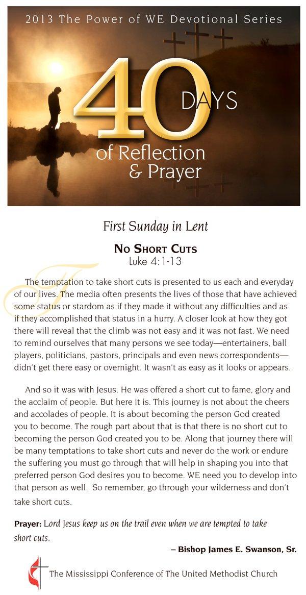 Devotional for Feb. 17, 2013