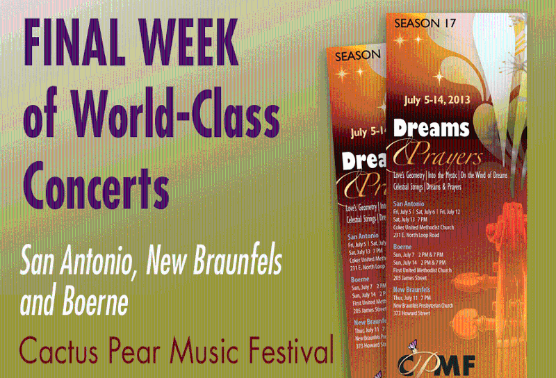 Final Week of Concerts_2013