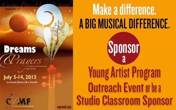 Sponsor a YAP Event or Studio Classroom