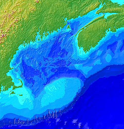 Gulf of Maine Map