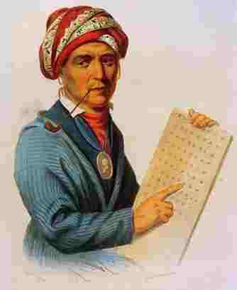 Cherokee leader Sequoyah